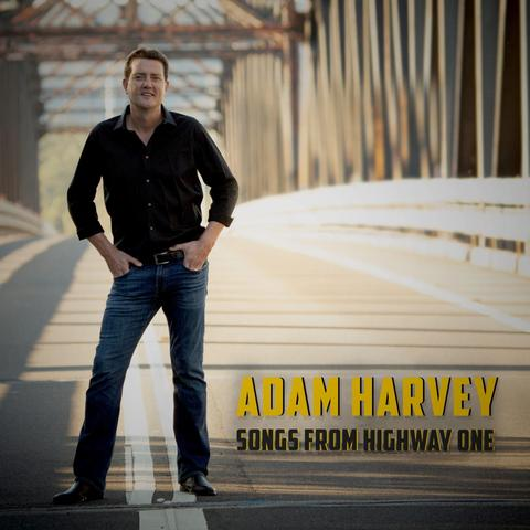 ADAM HARVEY Songs From Highway One CD PERSONALLY SIGNED BY ADAM
