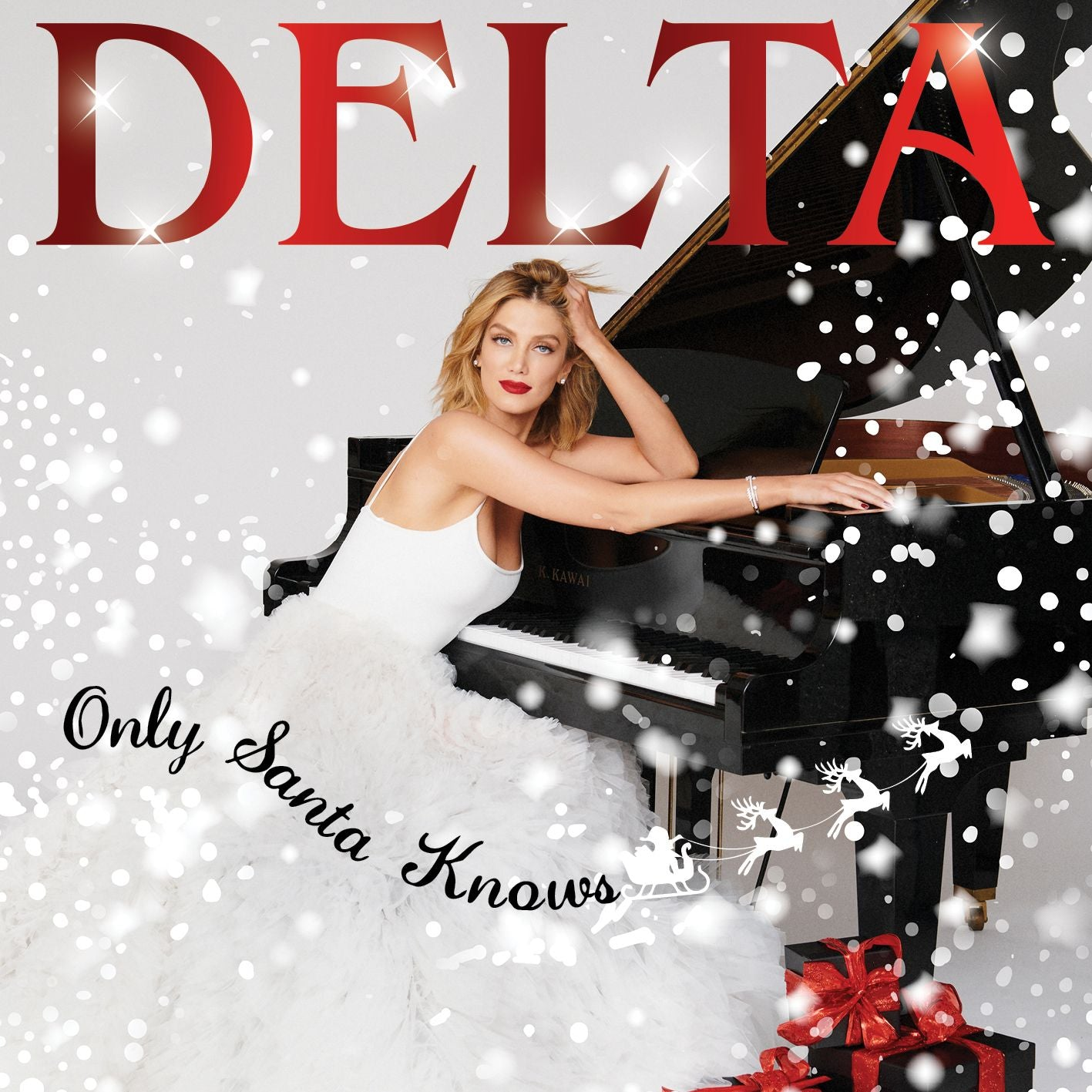 DELTA GOODREM Only Santa Knows CD