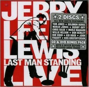 JERRY LEE LEWIS Last Man Standing Live 2CD/DVD