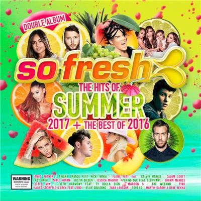 So Fresh: The Hits Of Summer 2017 + The Best Of 2016 2CD NEW