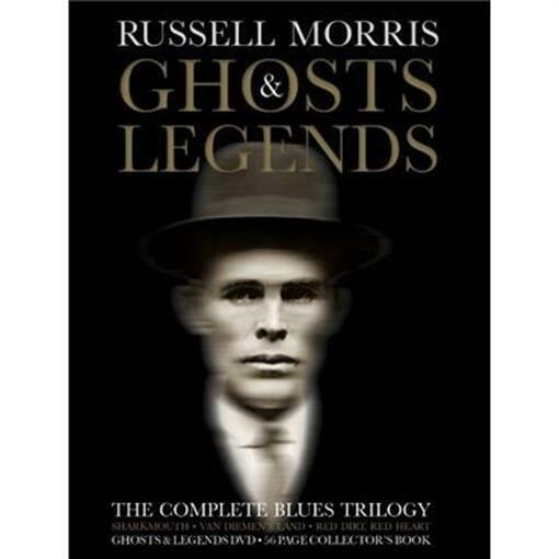 RUSSELL MORRIS (Personally Signed) Ghosts & Legends: The Complete Blues Trilogy 3CD + DVD