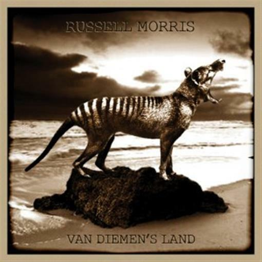 RUSSELL MORRIS Van Diemen's Land PERSONALLY SIGNED CD NEW