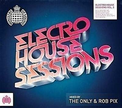 ELECTRO HOUSE SESSIONS VOL.5 The Only & Rob Pix CD