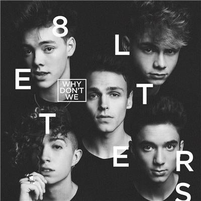 WHY DON'T WE 8 Letters (Personally Signed) CD