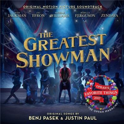 GREATEST SHOWMAN, THE The Soundtrack - Hugh Jackman & Zac Efron CD