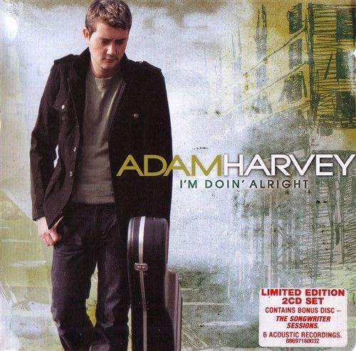 ADAM HARVEY I'm Doin' Alright (Includes Songwriter Sessions) 2CD
