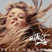 DELTA GOODREM Wings (Personally Signed by Delta) CD SINGLE