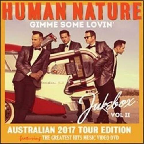 HUMAN NATURE Gimme Some Lovin' Jukebox II (Personally Signed Tour ED) CD/DVD