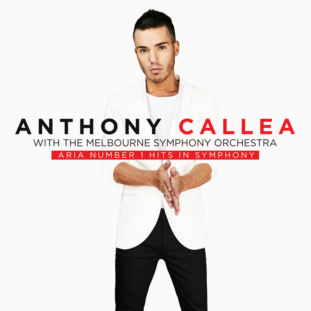 ANTHONY CALLEA ARIA Number 1 Hits In Symphony (Signed by Anthony) CD