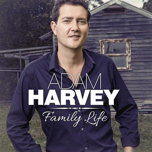ADAM HARVEY Family Life (Personally Signed by Adam) CD