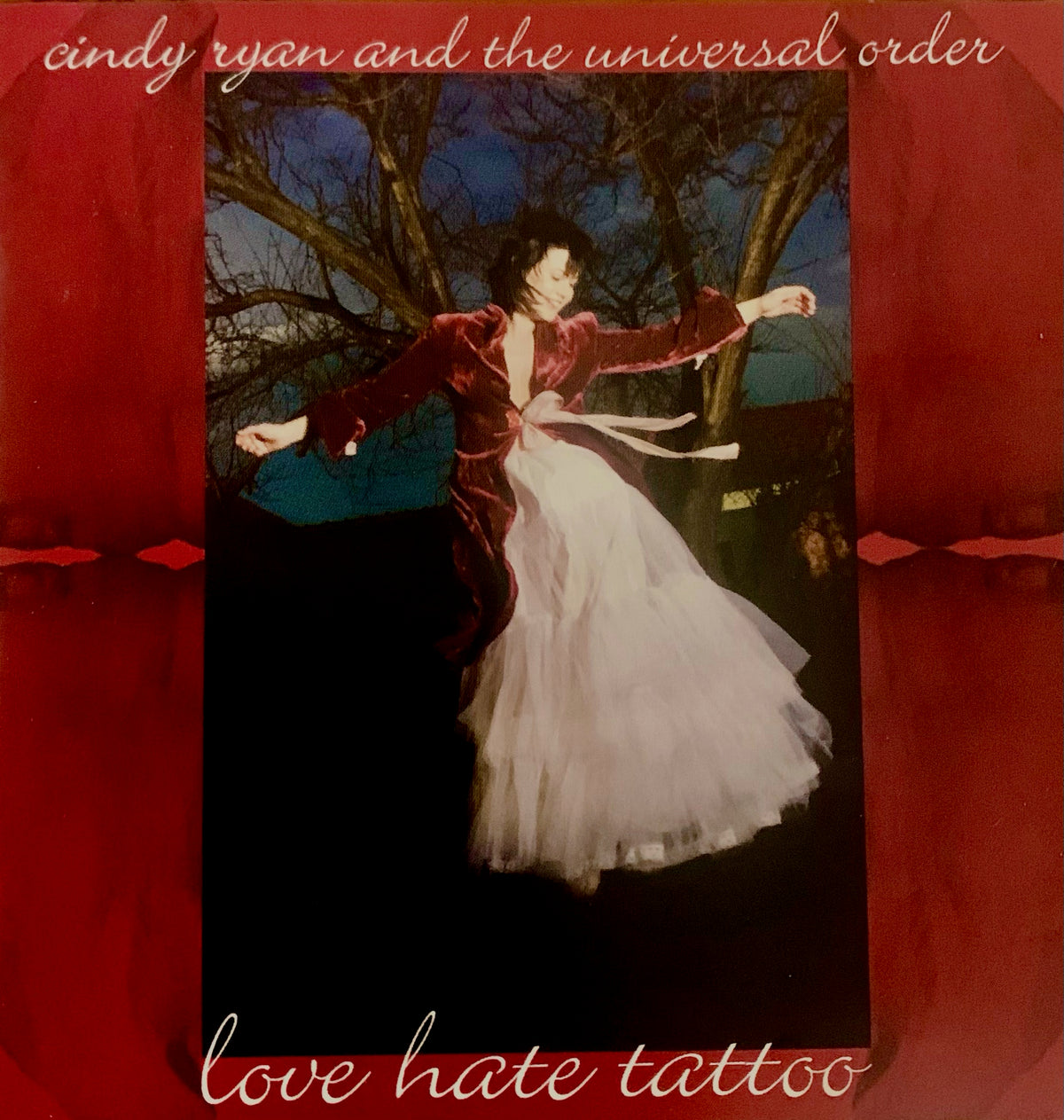 CINDY RYAN AND THE UNIVERSAL ORDER Love Hate Tattoo CD