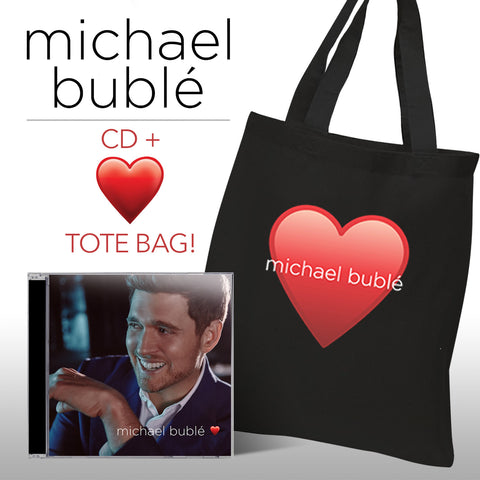 MICHAEL BUBLE Love (Deluxe Edition - PLUS Tote Bag) CD