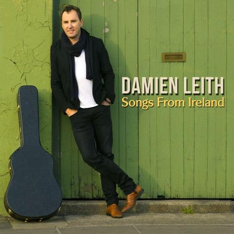DAMIEN LEITH Songs From Ireland (Personally Signed By Damien) CD
