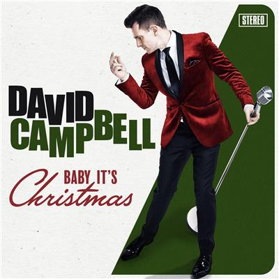 DAVID CAMPBELL Baby It's Christmas SIGNED by David  CD