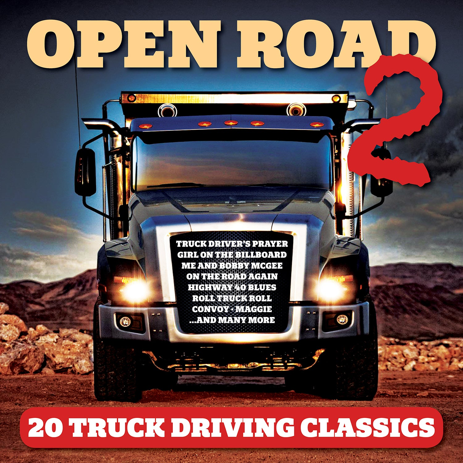 FANFARE319 - VARIOUS ARTISTS - OPEN ROAD