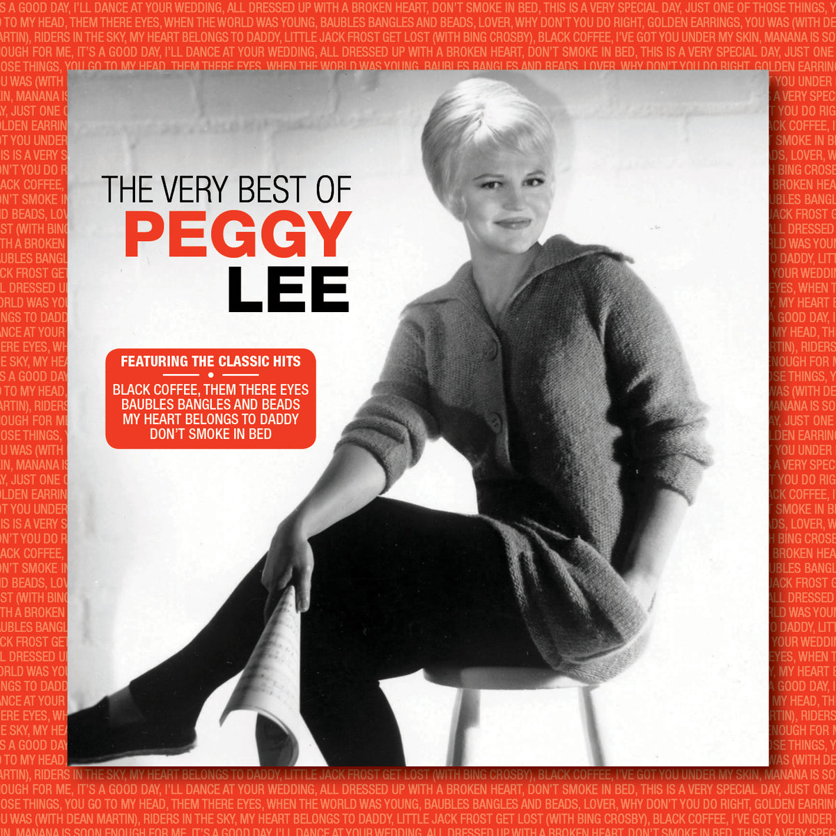 FANFARE164 - PEGGY LEE - THE VERY BEST O