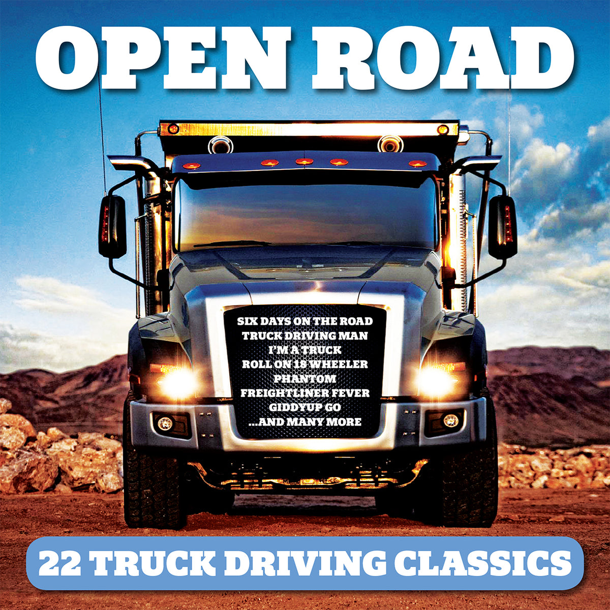 FANFARE304 - VARIOUS ARTISTS - OPEN ROAD