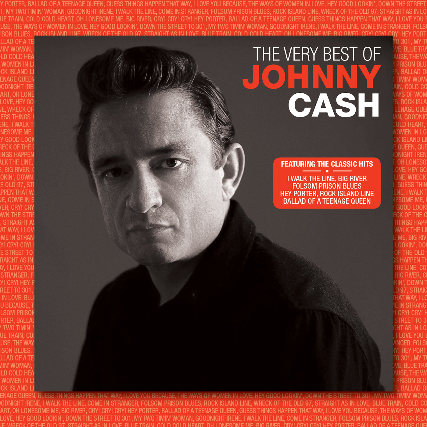 FANFARE161 - JOHNNY CASH - THE VERY BEST