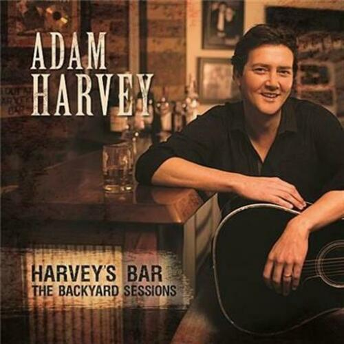 ADAM HARVEY Harvey's Bar: The Backyard Sessions (Personally Signed by Adam)  CD