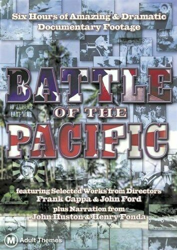 BATTLE OF THE PACIFIC DOCUMENTARY WWII DVD NEW
