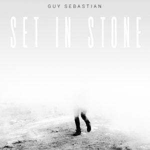 GUY SEBASTIAN Set In Stone (Personally Signed by Guy) CD