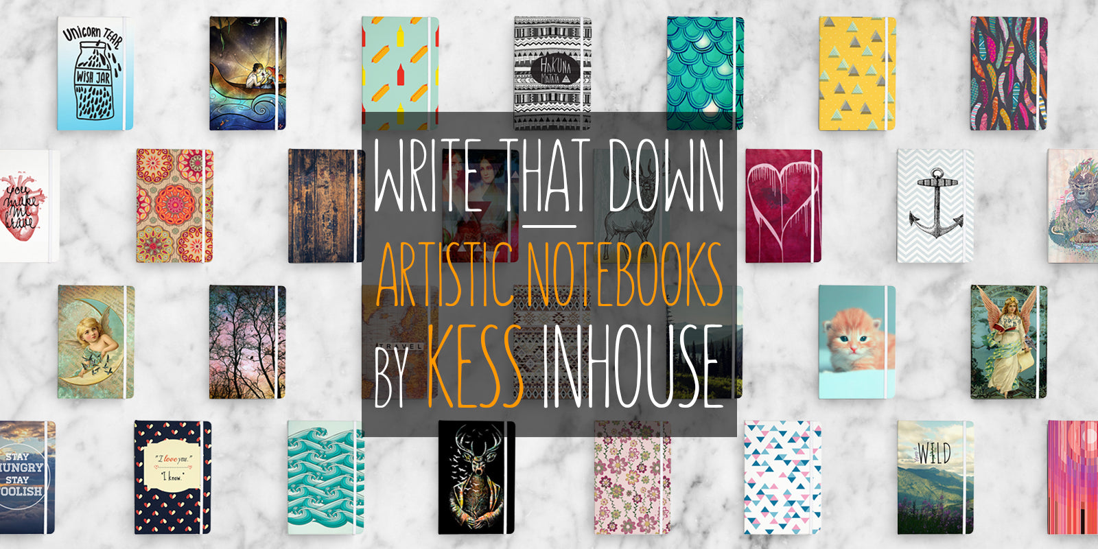 KESS InHouse Everything Notebooks