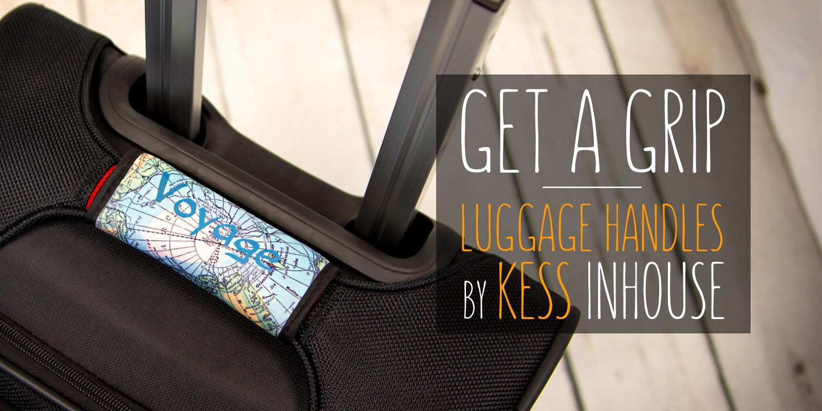 KESS InHouse Luggage Handles