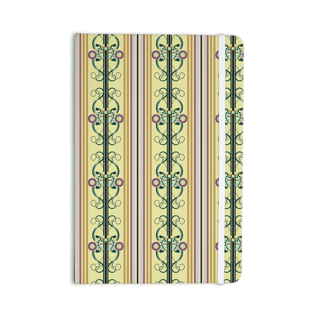 "Mydeas ""Blooming Trellis"" Everything Notebook - KESS InHouse  - 1"