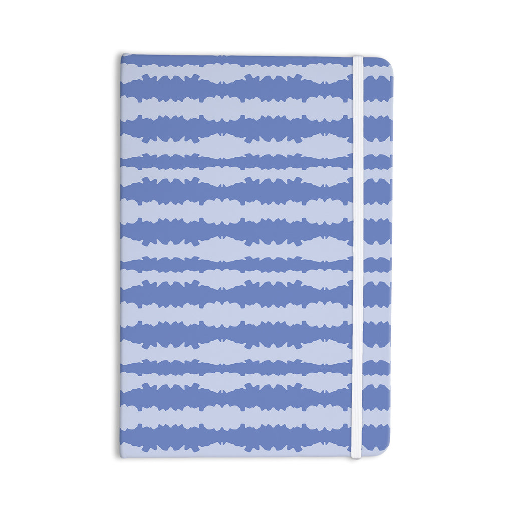 "Mydeas ""Nautical Breeze - Ocean Ripple"" Blue Aqua Everything Notebook - KESS InHouse  - 1"