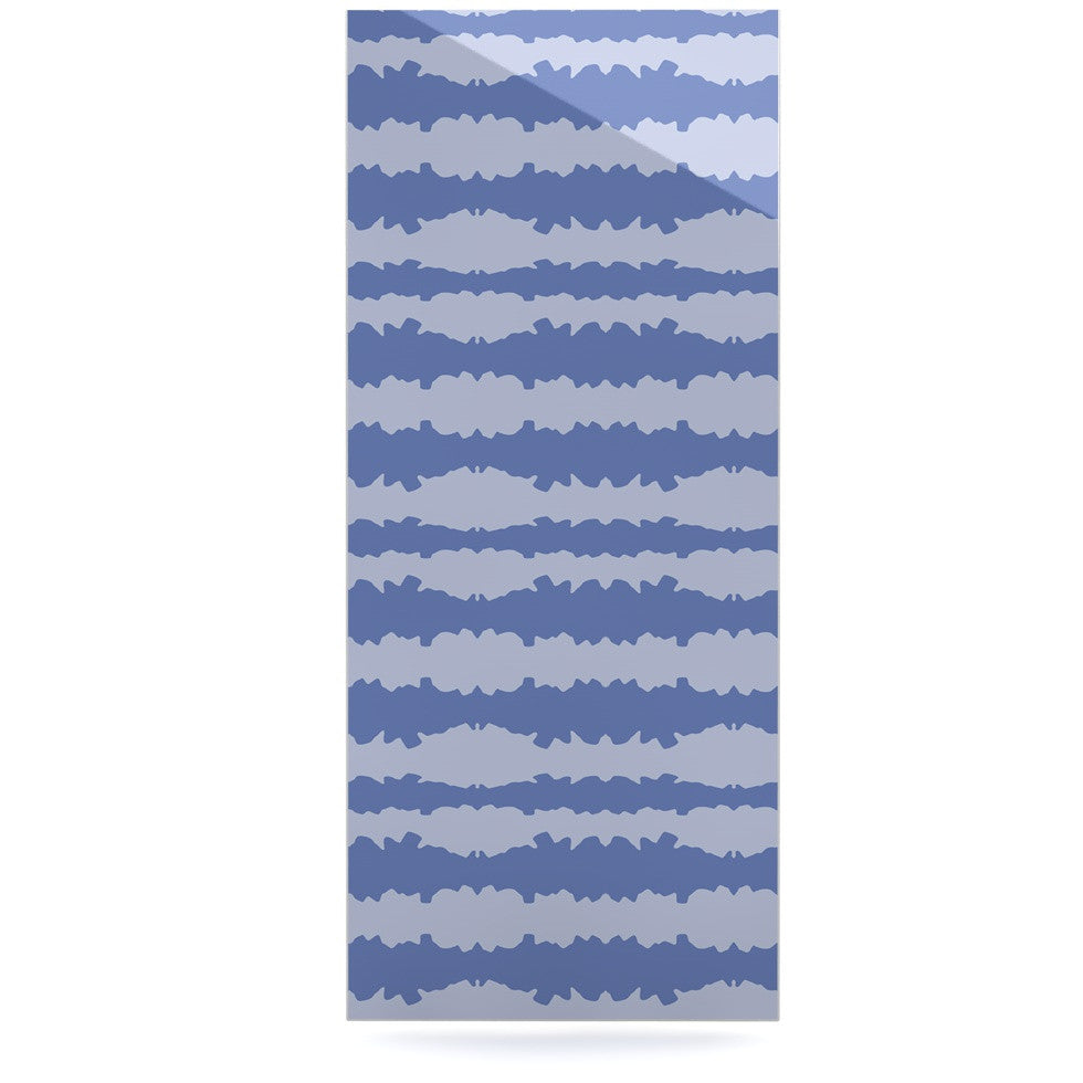 "Mydeas ""Nautical Breeze - Ocean Ripple"" Blue Aqua Luxe Rectangle Panel - KESS InHouse  - 1"