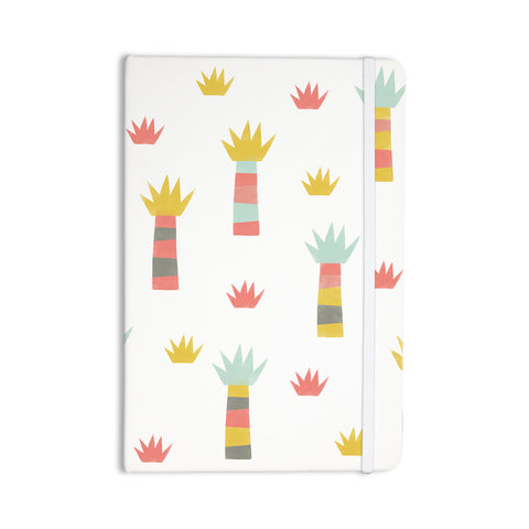 "Alik Arzoumanian ""Tropical"" White Pastel Everything Notebook - KESS InHouse  - 1"