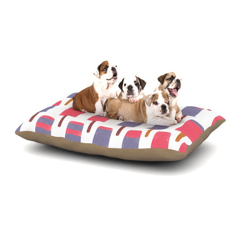 "Alik Arzoumanian ""Pop"" Pink Purple Dog Bed - KESS InHouse  - 1"