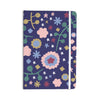 "Alik Arzoumanian ""Night Floral"" Blue Nature Everything Notebook - KESS InHouse  - 1"