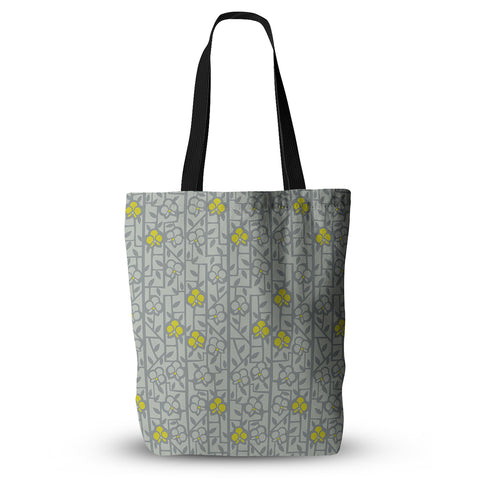 "Allison Beilke ""Deco Orchids"" Everything Tote Bag - KESS InHouse  - 1"