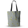 "Allison Beilke ""Deco Orchids""  Everything Tote Bag - Outlet Item"