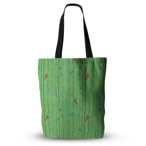 "Allison Beilke ""Hello Birdies"" Tote Bag - Outlet Item"