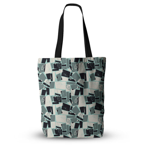 "Allison Beilke ""Vacation Days Chess"" Tote Bag - Outlet Item"