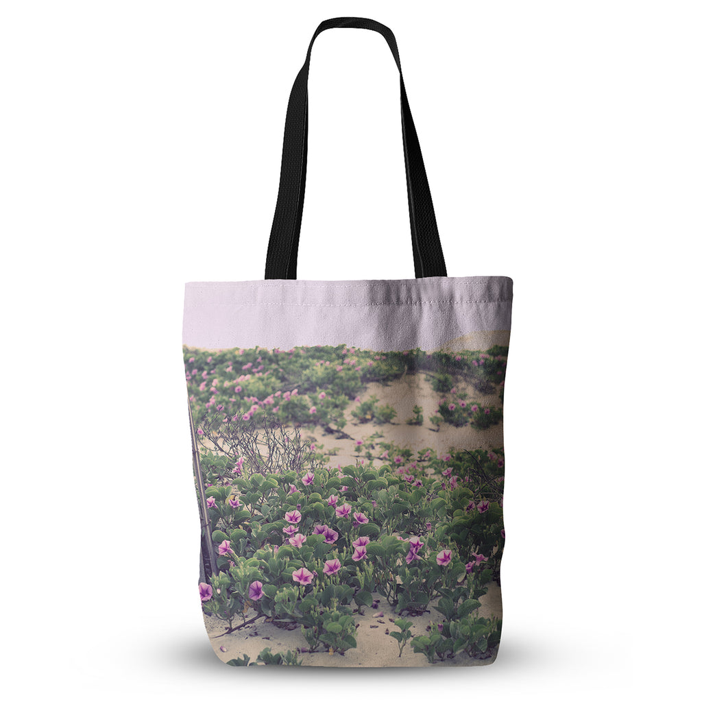 "Ann Barnes ""Morning at the Beach"" Flowers Everything Tote Bag - KESS InHouse  - 1"
