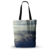"Ann Barnes ""Cloud Atlas"" Water Everything Tote Bag - Outlet Item"