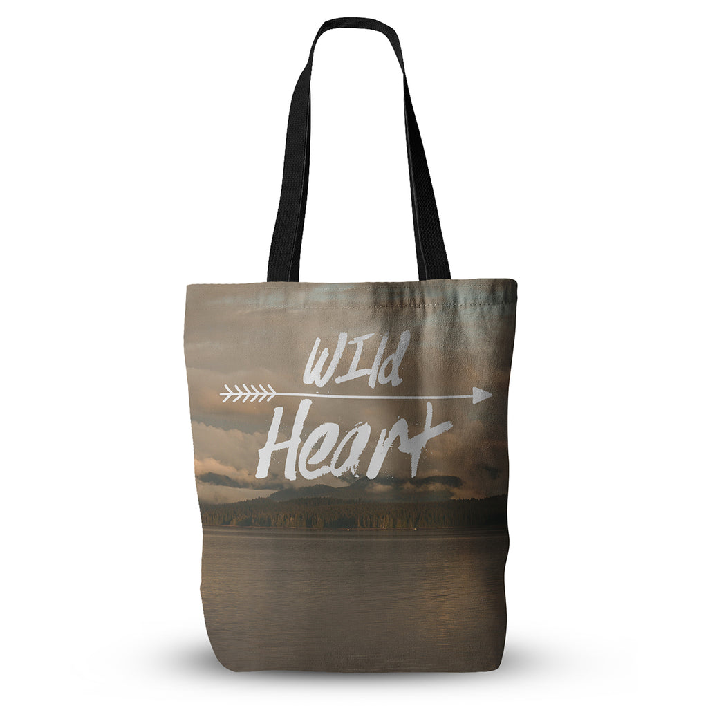 "Ann Barnes ""Wild Heart"" Landscape Everything Tote Bag - KESS InHouse  - 1"