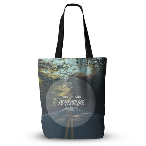 "Ann Barnes ""The Adventure Begins"" Tote Bag - Outlet Item"
