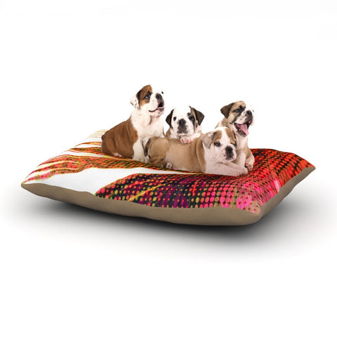 "Alison Coxon ""Feather Pop"" Dog Bed - KESS InHouse  - 1"