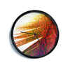 "Alison Coxon ""Feather Pop""  Modern Wall Clock"