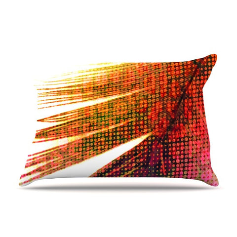"Alison Coxon ""Feather Pop"" Pillow Sham - KESS InHouse  - 1"
