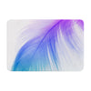 "Alison Coxon ""Feather Colour"" Memory Foam Bath Mat - KESS InHouse"