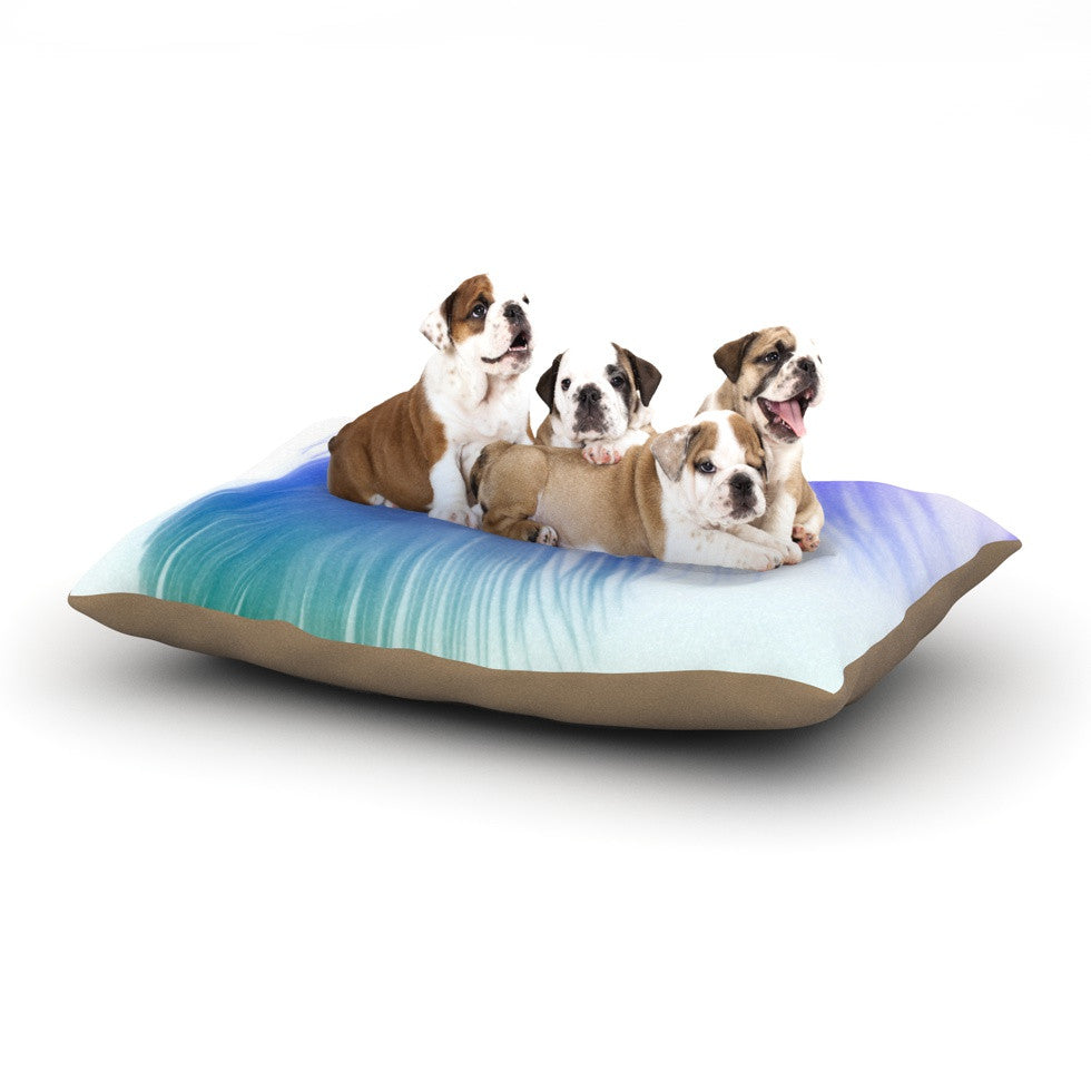 "Alison Coxon ""Feather Colour"" Dog Bed - KESS InHouse  - 1"