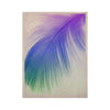 "Alison Coxon ""Feather Colour"" KESS Naturals Canvas (Frame not Included) - KESS InHouse  - 1"