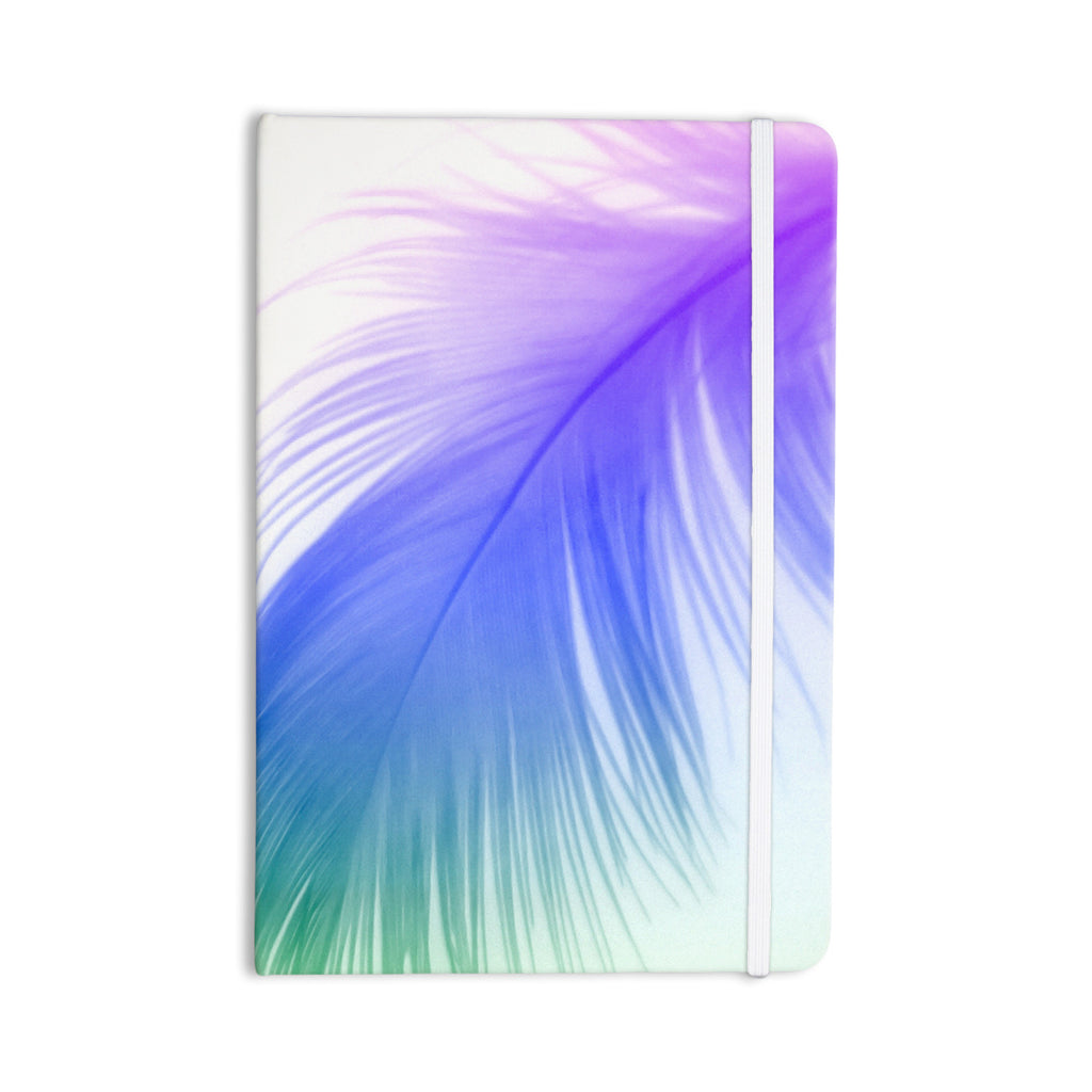 "Alison Coxon ""Feather Colour"" Everything Notebook - KESS InHouse  - 1"