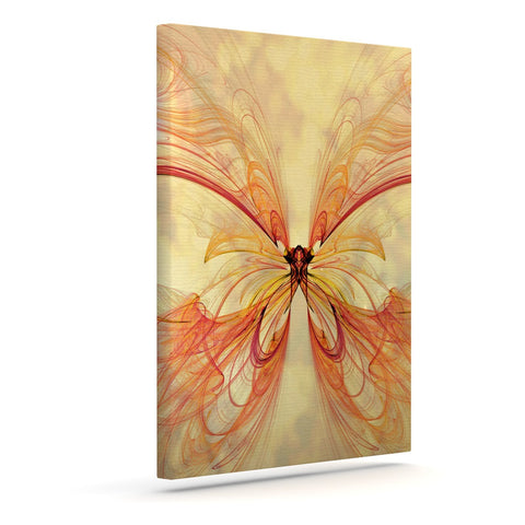 "Alison Coxon ""Papillon"" Outdoor Canvas Wall Art - KESS InHouse  - 1"