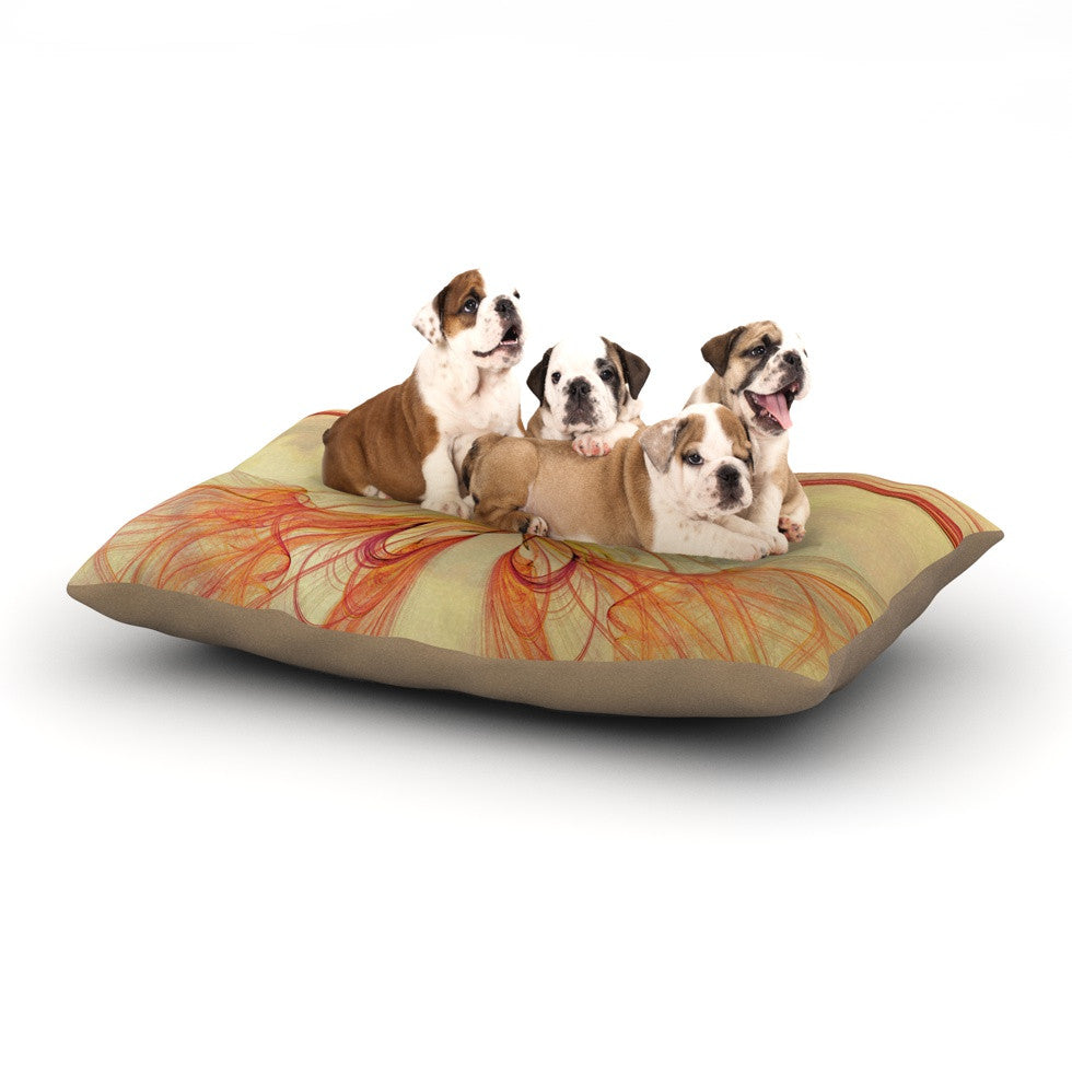 "Alison Coxon ""Papillon"" Dog Bed - KESS InHouse  - 1"